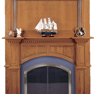 ashby fireplace mantel