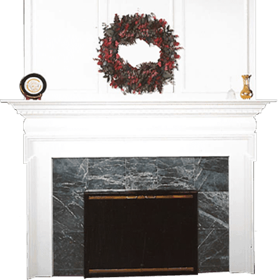 bradbury fireplace mantel