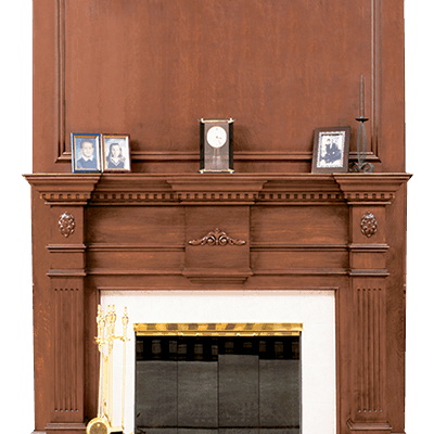 devonshire fireplace mantel