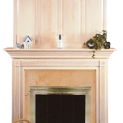 fairmont fireplace mantel