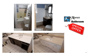 Bathroom Before and after makeover remodel
